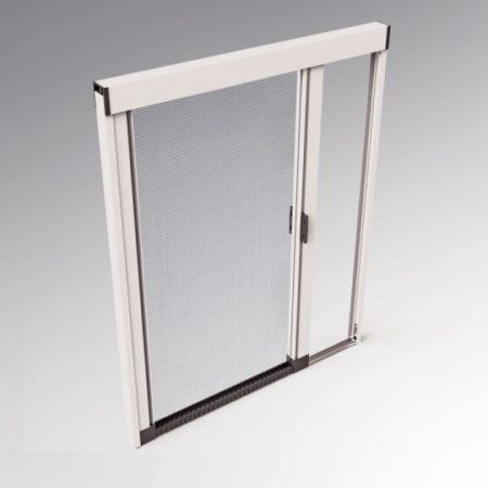 Zanzariere su misura per porta finestra mod sidney for Altezza porta finestra