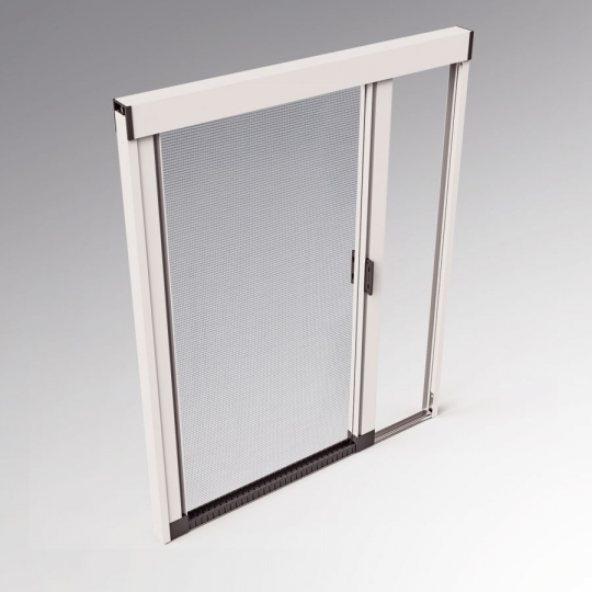 Zanzariera per porta finestra su misura mod silent for Zanzariera porta finestra